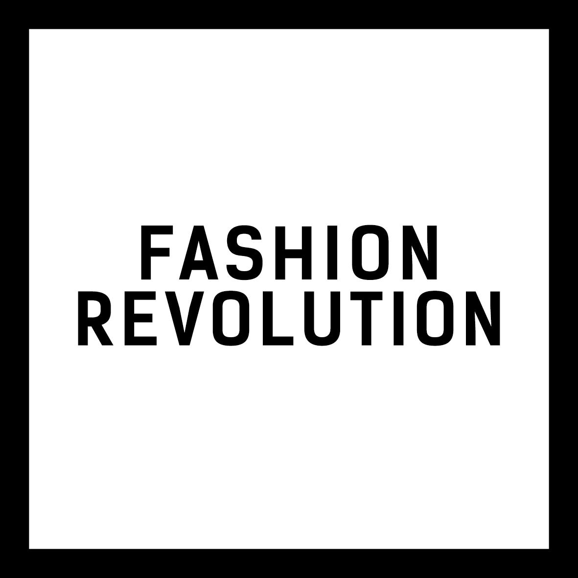 Logo for Fashion Revolution