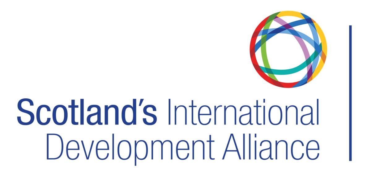 Logo for Scotland's International Development Alliance